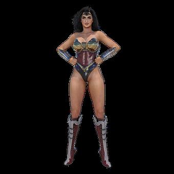 Ww, Wonderwoman, Comic, Cult Figure, Heroes