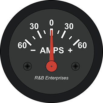 Current, Meter, Ampere, Amp, Car