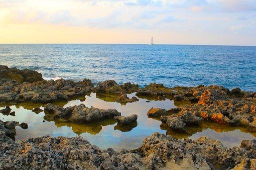 Sant Antoni Bay, Ibiza, Sailing, Boat, Sea, Ocean, Sky