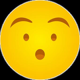 Hushed, Silent, Quiet, Emoji, Whatsapp Emoji Hushed