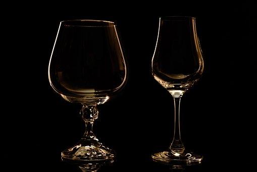 Still Life, Closeup, Table, Plate, Glass