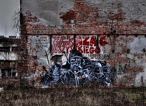 Mural, Wall, Graf, Graffiti, Fresco