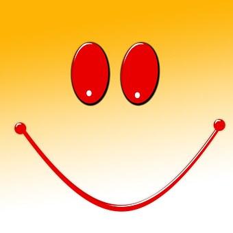 Love, Smile, Smiley, Valentine's Day, Greeting Card