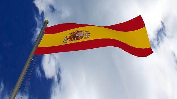 Spain, Spain Flag, Spanish, Flag, Symbol, National