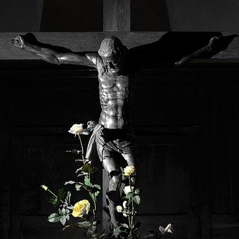 Religion, Catholic, Statue, Christ, Jesus, Crucifixion