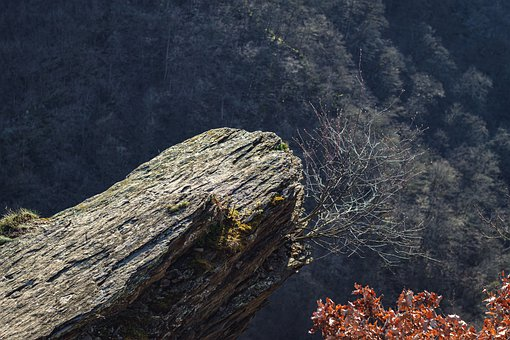 Slate, Peterslay, Boppard, Rock, Abyss, View, Viewpoint