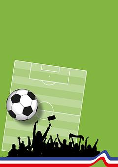 Football, France, Background, Rush