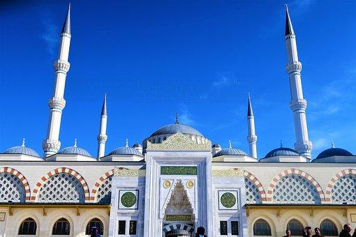 Cami, Minaret, Dome, Islam, Architecture, Religion