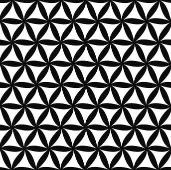 Pattern, Floral, Repeating, Black And White, Leaf