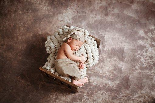 Newborn, Children, Baby, Studio