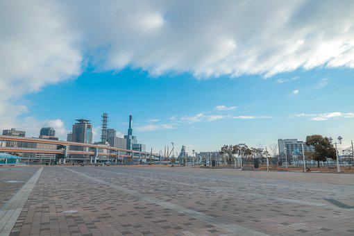 Kobe, The Sea, Blue Sky
