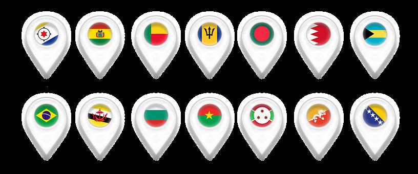 Map, Maps, Geolocation, Pin, Bonaire, Bolivia, Benin