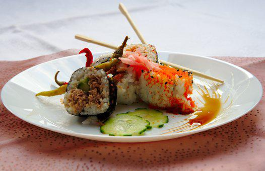 Food, Japan, Kitchen, Fish, Gourmet, Chef Art, Asia
