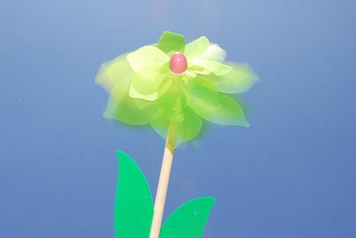 Pin Wheel, Wheel, Flower, Wind, Blow, Spin, Toy Wind