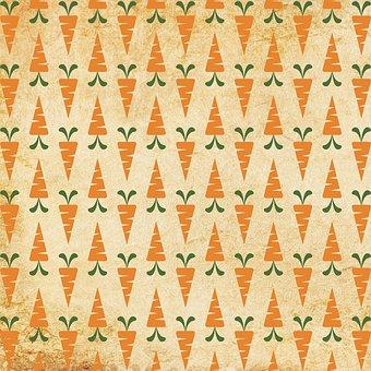 Patter, Carrot Pattern, Carrot Print, Carrot, Carrots