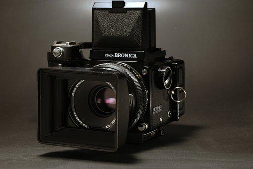 Zenza, Bronica, Etrs, Camera, Photography, Focus, Film
