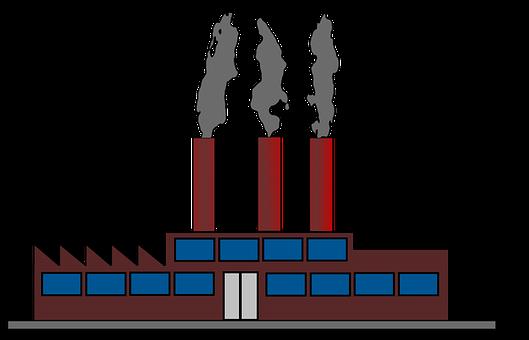 Factory, Work, Industry, Chimneys, Company