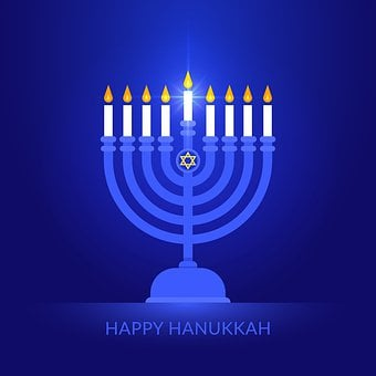 Hanukkah, Candle, David, Star, Jewish, Israel, Judaism