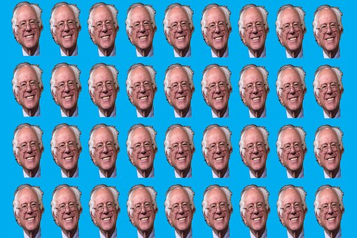 Bernie Sanders, Background, Texture, Wallpaper