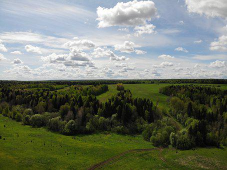 Aerial, Cloud, Clouds, Country, Countryside