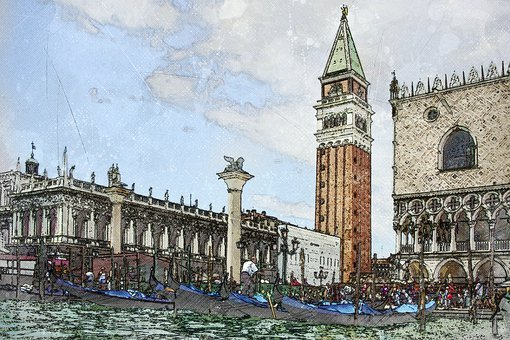 Venice, San Marco, Grand Canal, Italian, Marco, City