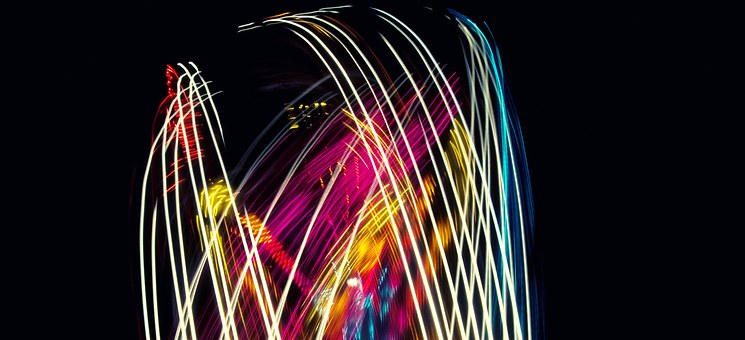 Bright, Line, Science And Technology, Long Exposure