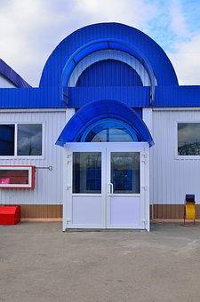 Doors, Architecture, Shops, Building, Entrance, Office