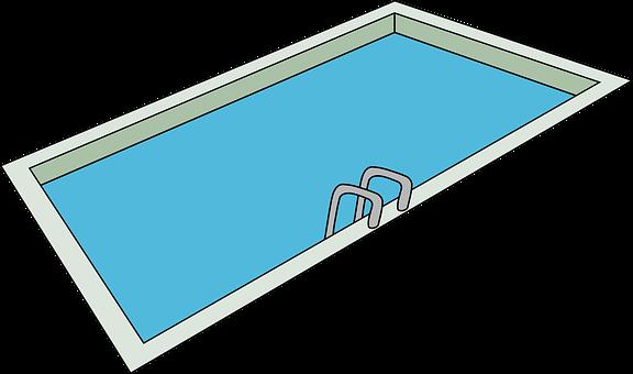 Swimming Pool, Swimming, Pool, Ladder