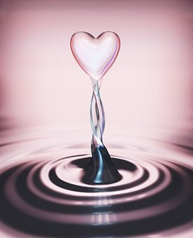 Love, Heart, Valentine's Day, Drop Of Water, Romantic