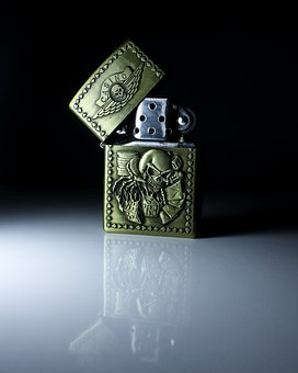 Zippo, Lighter, Steel, Metal, Smoking, Shiny