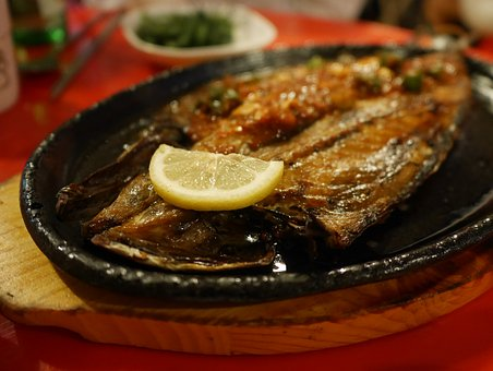 Mackerel, Wine Side Dishes, And Ribs