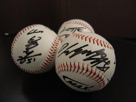 Kbo, Pro Baseball, Baseball, Cod, Autographed Ball