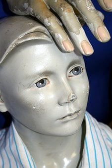 Sculpture, Clay, Boy