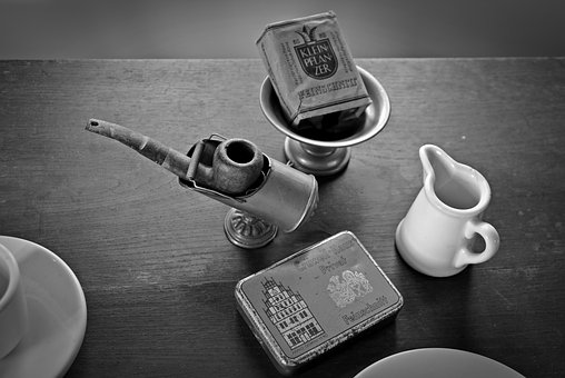Break, Smoking, Cigarette, Pipe, Benefit From, Old
