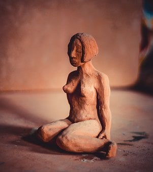 Clay Figure, Potters, Sound, Decoration, Clay, Pottery