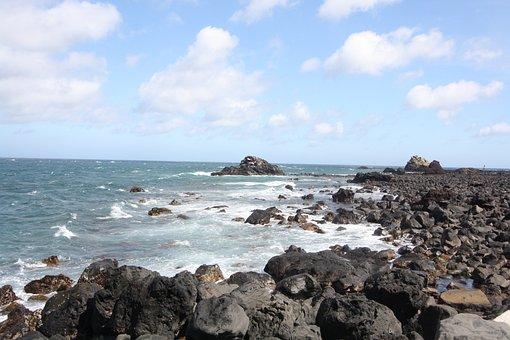 Coastal, Stone, Breakwater, Non-transferability, Waves