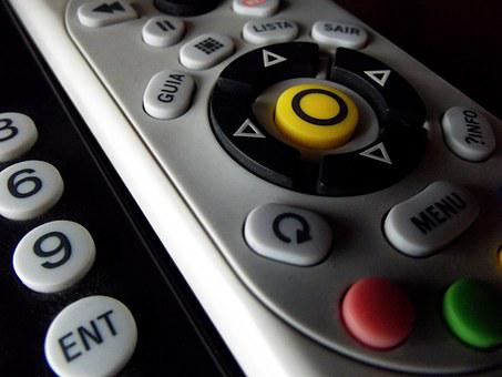 Remote Control, Controls, Tv, Technology, Infro Red