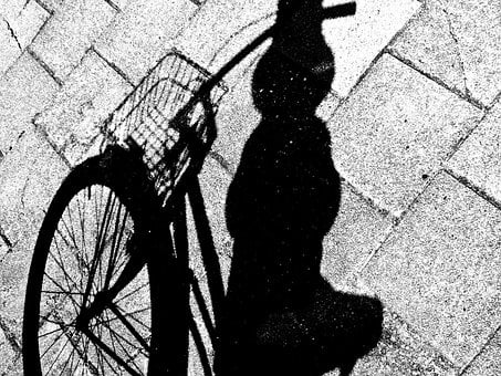 Bike, Bicycle, Shadow, Street, Cycle, Sport, Activity