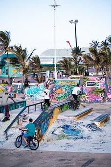 Durban, Skate Park, Trick Bike