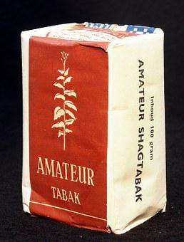 Amateur, Tobacco, Packaging, Old, Dutch, Product, Paper