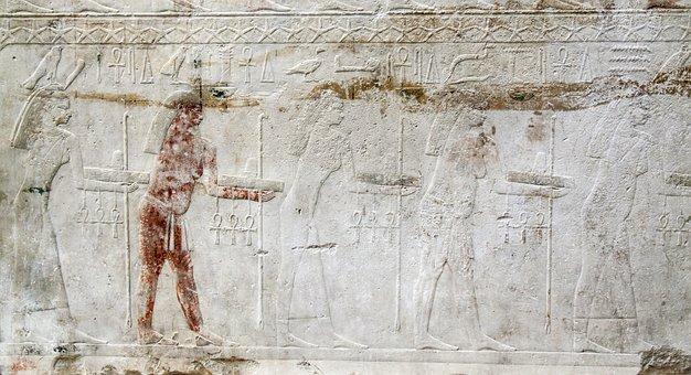Egyptian Hieroglyph, Marble, Egyptian, Egypt, Ancient