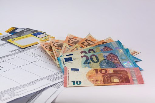 Money, Euro, Currency, Europe, Dollar Bill