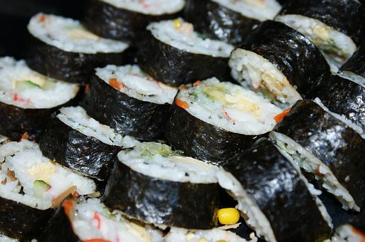 Sushi, Food, Rice, Fish, Seafood, Japanese, Restaurant
