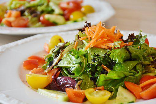 Salad, Fresh, Food, Diet, Health, Meal, Weight-loss