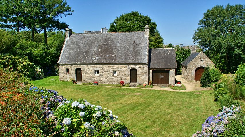 House, Brittany, Small House, Pierre, Granite