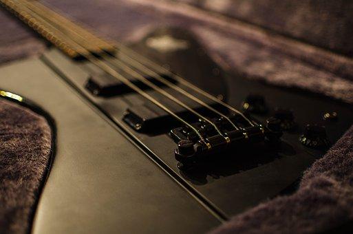 Bass, Guitar, Instrument, Music, E Bass, Bass Guitar