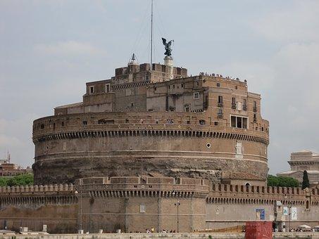 Castel Sant'angelo, Rome, Italy, Romans