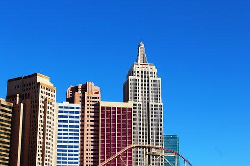 Buildings, New York, Casino, Hotel, Las Vegas, Vegas