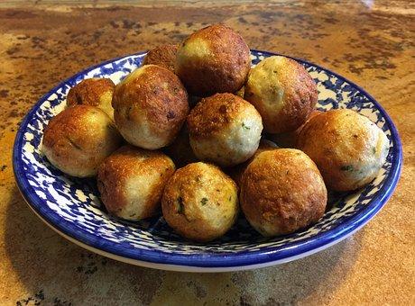 Chicken, Meatball, Meatballs, Pecorino, Cheese, Bowl