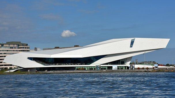 Amsterdam, Film Museum, Eye Film-instituut, Museum
